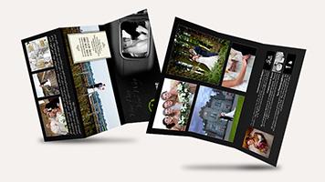 Tri-fold (z-fold) DL brochure